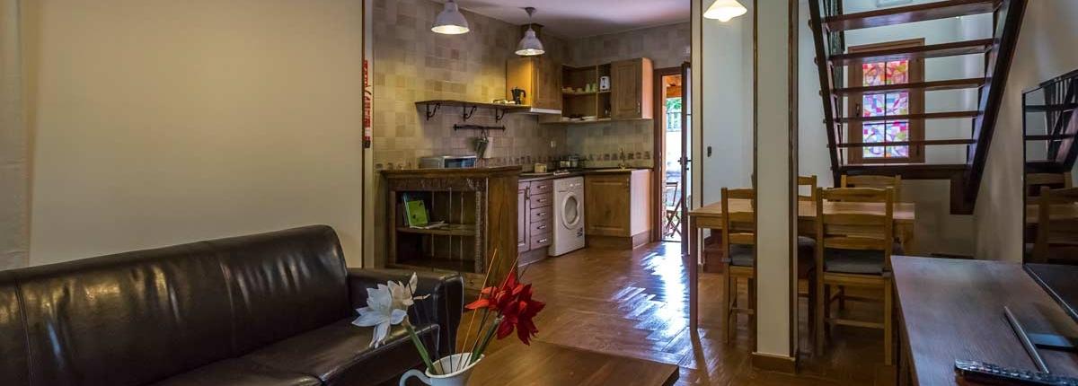 El Rincón del Duende - Apartamento El Rincón - Salón y Cocina