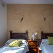 Apartamentos Senda, Dormitorio con dos camas de 90cm
