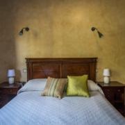 Apartamentos Senda, Dormitorio con cama de 1,50