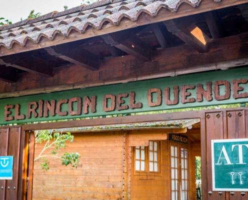 Entrada a El Rincón del Duende, Teverga