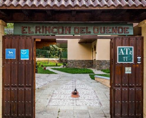 Entrada a los apartamentos El Rincón del Duende